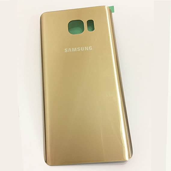 fb6685294e180d Image Unavailable. Image not available for. Color: Battery Door Back Cover  Glass Fix Replacement Repair Parts for Samsung Galaxy Note 5 ...