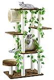 Go Pet Club F2094  Cat Tree Furniture, 58-Inch
