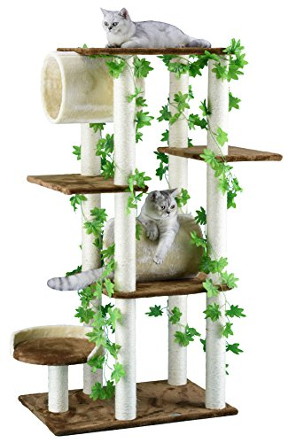 Cat Condo Wood (Go Pet Club F2094 Cat Tree Furniture, 58-Inch)