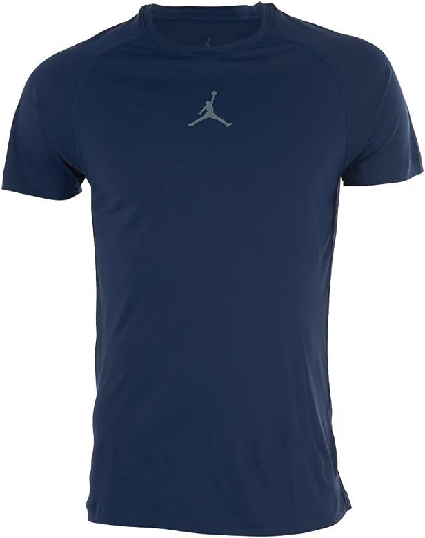 Nike Michael Jordan - Camiseta para Hombre, Color Azul Marino/Gris ...