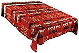 Splendid Exchange Southwestern Bedding Freedom Collection, Mix and Match, Queen/Full Size Reversible Bedspread, Freedom Cross Red and Black