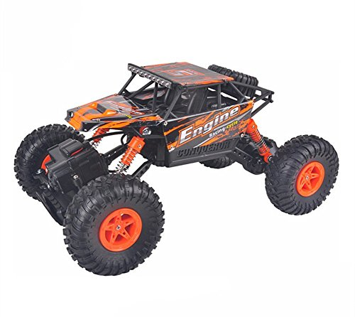 ectric RC Car Independent Suspension Remote Control Truck-Orange (10 Electric Rc Car)