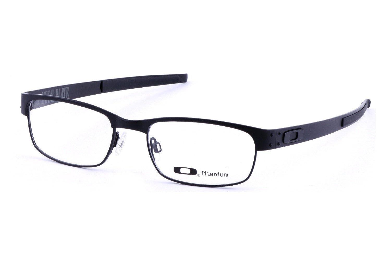 55d614a716a2 Amazon.com: Oakley Metal Plate Matte Black 22-198 Size 53-18: Clothing