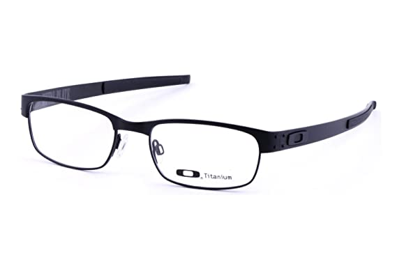 370325db58 Image Unavailable. Image not available for. Color  Oakley Metal Plate Matte  Black 22-198 ...
