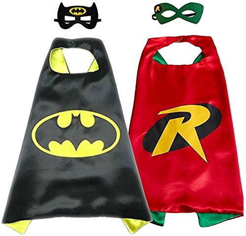 Child Batman Mask (Superhero Direct Superhero Capes and Masks - Kids Size by (Batman - Robin))