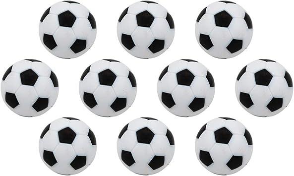 GZQ Mini Pelotas de Fútbol para Mesa 10 pcs 32 mm Juguete Balones ...