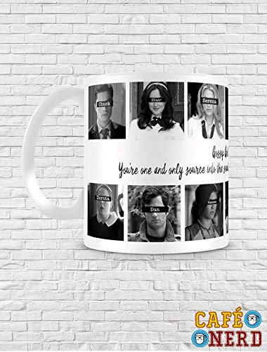 CANECA GOSSIP GIRLS PERSONAGENS