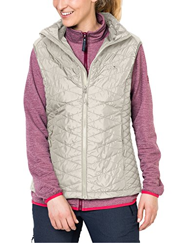 Jack Wolfskin Women's Glen Vest Coat, White Sand, Medium ()