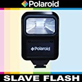 Polaroid Studio Series Pro Slave Flash Includes Mounting Bracket For The Canon Digital EOS Rebel T3, T3i, T1i, T2i, XSI, XS, XTI, XT, 60D, 50D, 40D, 30D, 20D, 10D, 5D, 1D, 5D Mark 2, 7D Digital SLR Cameras