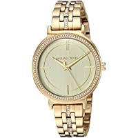 Michael Kors Women's Quartz Stainless Steel Casual Watch, Color:Gold-Toned (Model: MK3681)