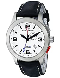 Momentum 1M-SP58L2B Men's Vortech GMT Sport Wrist Watches, White