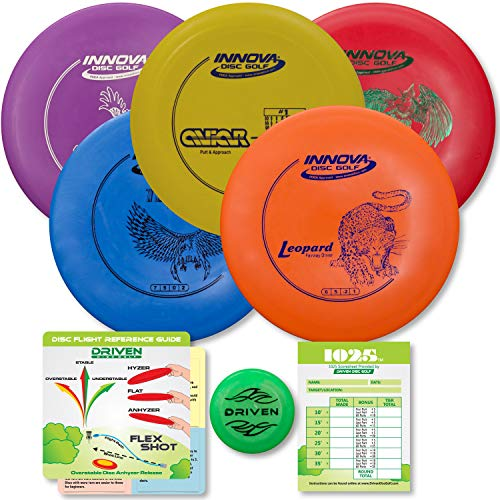 Driven Disc Golf Set - Innova 5 Disc Set