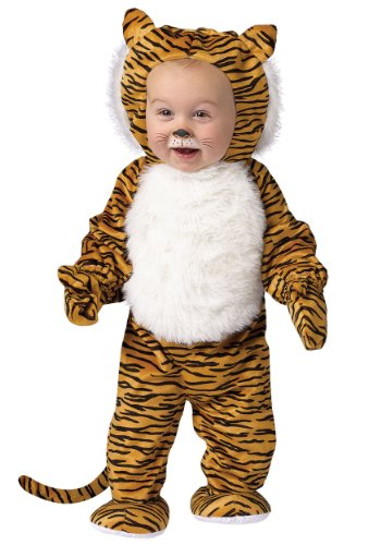 Little Boys' Cuddly Tiger Costume - L -