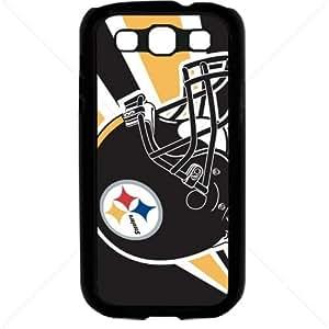 NFL American football Pittsburgh Steelers Samsung Galaxy S3 SIII I9300 TPU Soft Black or White case (Black)