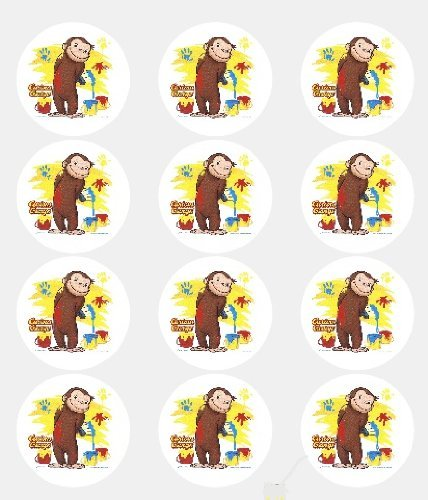 12-Curious-George-Edible-Cupcake-Toppers