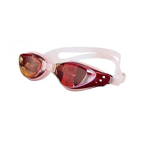 8134a23f91d658 Haute qualité Miroir antibuée Myopic optique Lunettes de natation (Dioptrie  -1.00 au -10.00