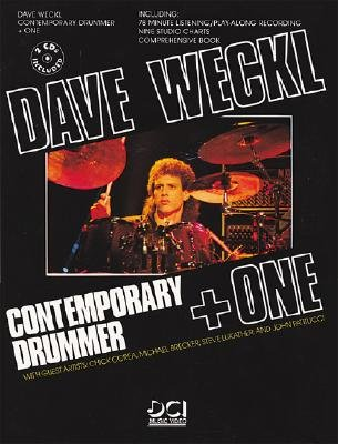 Dave Weckl -- Contemporary Drummer + One: Book, CD, & Charts (Manhattan Music Publications)