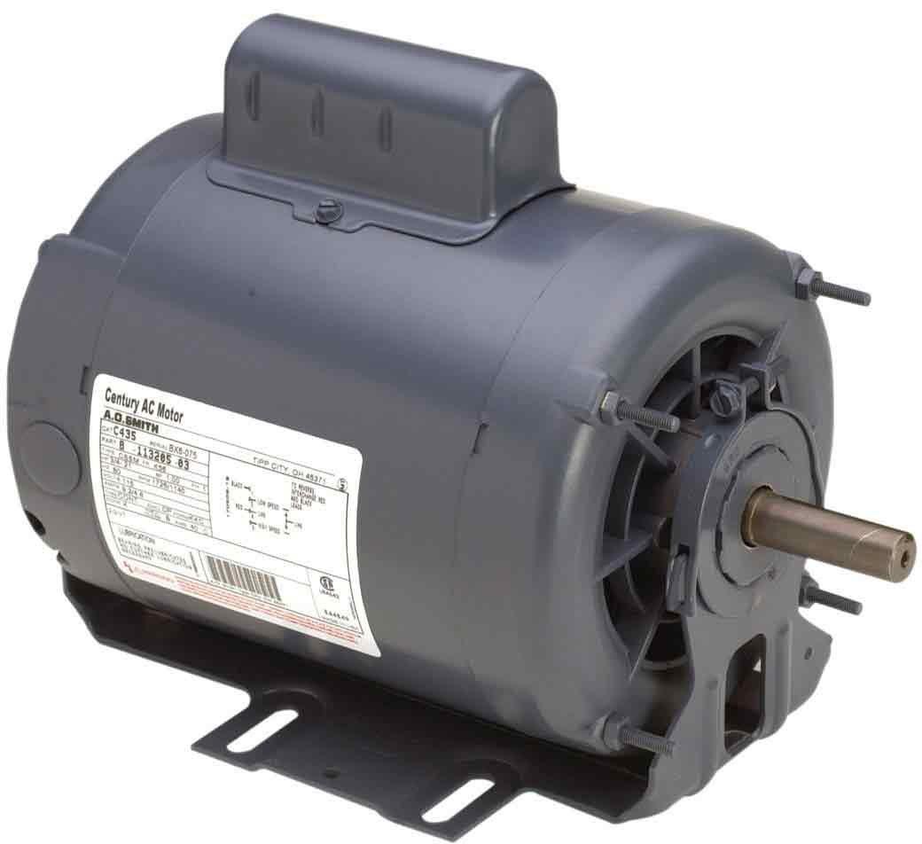 AO Smith C471A 56 Frame 1 1/3 HP 1725 RPM 115-Volt 12.4-Amp Ball Bearing Cap Start Resilient