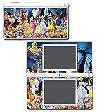 Princess Jasmine Belle Cinderella Minnie Ariel Mickey Video Game Vinyl Decal Skin Sticker Cover for Nintendo DS Lite System
