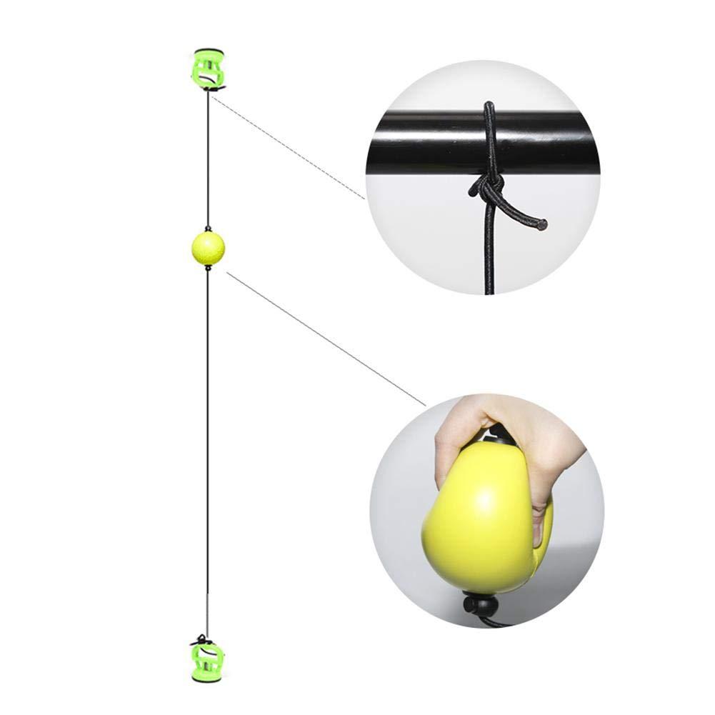 iYoung Boxe Vitesse Ball Boxe Quick Puncher Reflex Ball Entra/înement Physique pour d/écompression Vent