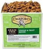 Darford Holistic All Natural Grain Free Veggie and Fruit Recipe Bulk Treats, 19-Pound