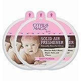 Best Arm & Hammer Fridge-freezers - Citrus Magic 8 oz. Baby Powder Odor Absorbing Review