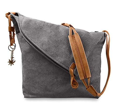 Canvas Hobo Handbags - 8