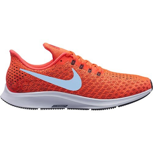 6b98484de740 Galleon - Nike Women s Air Zoom Pegasus 35 Bright Crimson Ice Blue - Sail  Ankle-High Mesh Running Shoe 5.5M