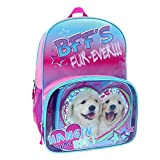 Fashion Dog Twins BFF Fur-Ever Backpack Lunch Bag Set
