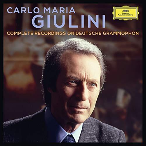 Carlo Maria Giulini: Complete Recordingson Deutsche Grammophon & Decca [42 CD]