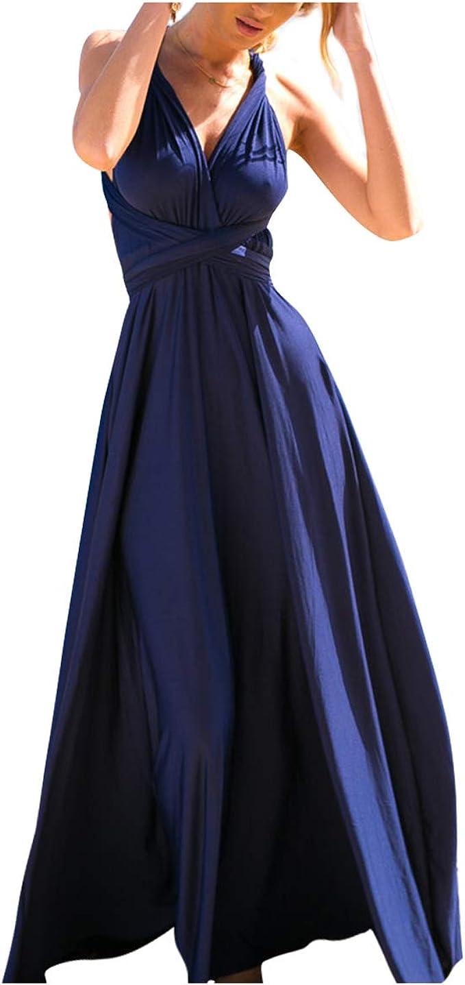 rückenfreies kleid sale navi blau