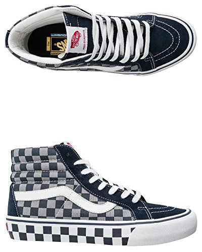 Vans Sk8 Hi Pro 50th 83 Checker/Blue/Grey 11uk