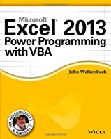 Excel 2013 Power Programming with VBA Front Cover
