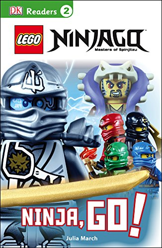 DK Readers L2: LEGO® NINJAGO: Ninja, Go!: Get Ready for Ninja Action! (DK Readers Level 2)
