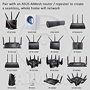 ASUS RT-AC88U Wireless-AC3100 Dual Band Gigabit Router, AiProtection with Trend Micro for Complete Network Security