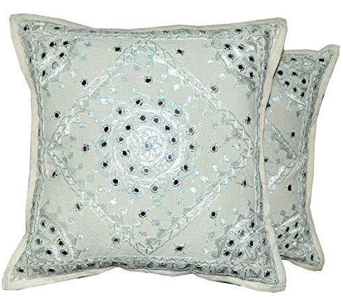 Indian Handmade Cushion Pillow Cover,Throw Cotton Pillow Cas