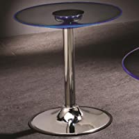 Coaster Home Furnishings 701497 Contemporary End Table, Chrome