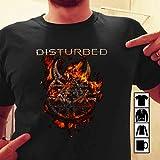 Disturbed Evolution T shirt Disturbed Burning Belief