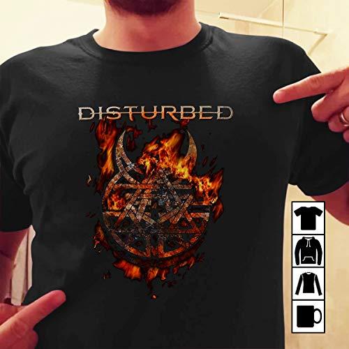 Disturbed Evolution T shirt Disturbed Burning Belief by MariaTee