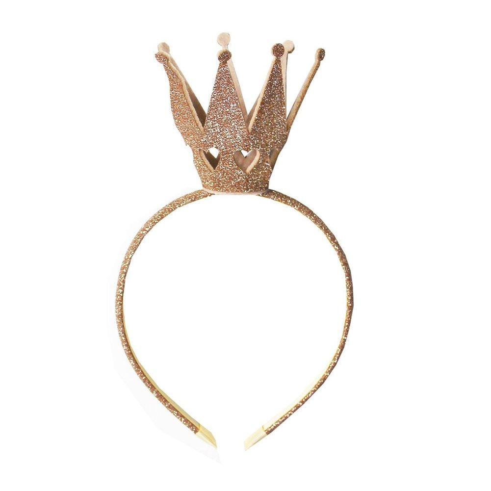 Ever Fairy/® M/ädchen Shiny Crown Haarband Prinzessin M/ädchen Krone Stirnband Hochzeit