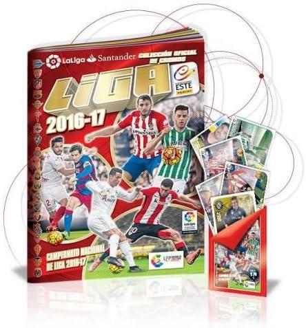 Panini - Pack Liga Este 2016-2017 (álbum + 10 Sobres) - Varios autores - sinopsis y Precio: Vv.Aa.: Amazon.es: Juguetes y juegos