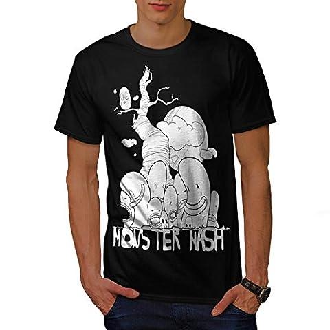 Cute Monster Mash Comic Smiley Men NEW S T-shirt   Wellcoda (The Monster Mash Pixie)