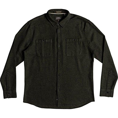 Quiksilver Men's Irish Rocks Flannel Shirt, Ivy Green, S (Flannel Green Irish)