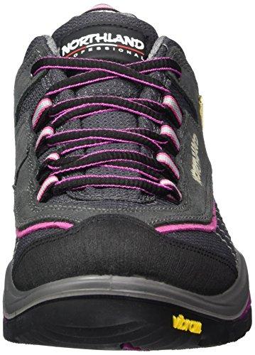 Northland Professional Sölden LC LS, Scarpe da Escursionismo Donna Grigio (Grau (Grey/Pink 0))