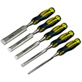 Stanley Chisel Set 5 Piece, 6,12,18.25,32