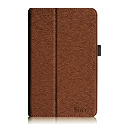 Fintie Premium Vegan Leather Case For Asus Vivotab Note 8 M80ta Tablet (Windows 8.1) Slim Fit Stand Cover With Stylus Holder - Brown