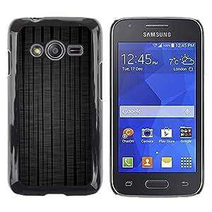 Be Good Phone Accessory // Dura Cáscara cubierta Protectora Caso Carcasa Funda de Protección para Samsung Galaxy Ace 4 G313 SM-G313F // Tree Lines Tire Treads