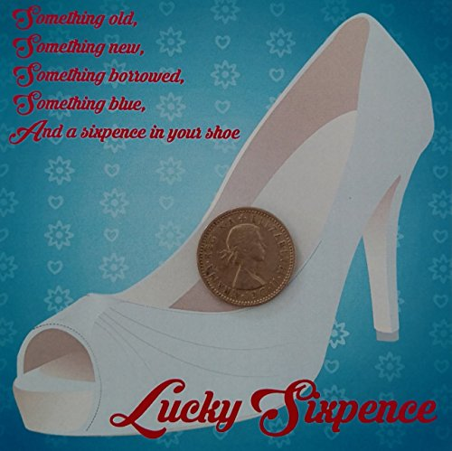 Wedding Sixpence Lucky Sixpence For Bridal Shoe Silver Gift Boxed Wedding Gifts by Yacanna