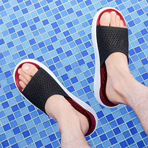 ❤️ Sunbona On Sale Mens Flip-Flops Slippers Summer Anti-Slip Thong Orthotic Beach Sandals Breathable Casual Shower Home Shoes