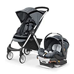 The lightweight Chicco Mini Bravo Sport Travel System makes every excursion simpler with user-friendly touchpoints and precise maneuverability. For infants, the KeyFit Infant Car Seat clicks easily into the Mini Bravo Sport Stroller with the ...